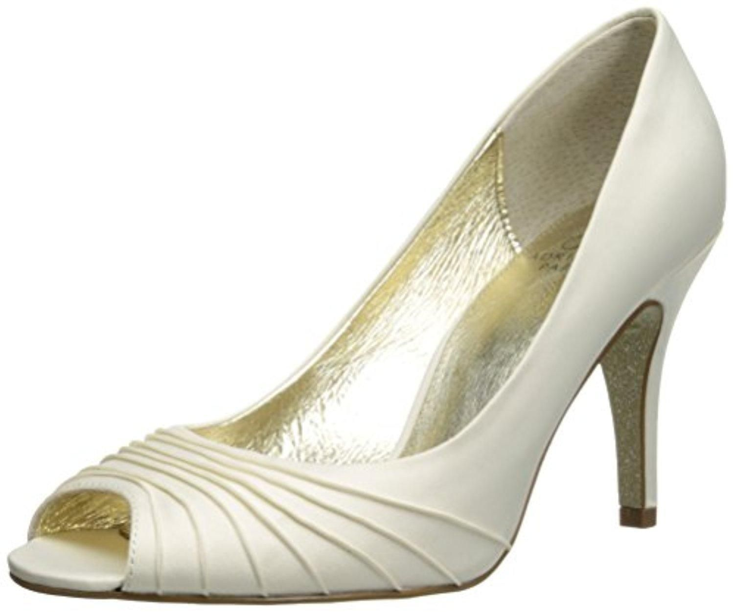 Adrianna Papell Women's Farrel Dress Pump, Ivory Satin, 8.5 M US - Brought  to