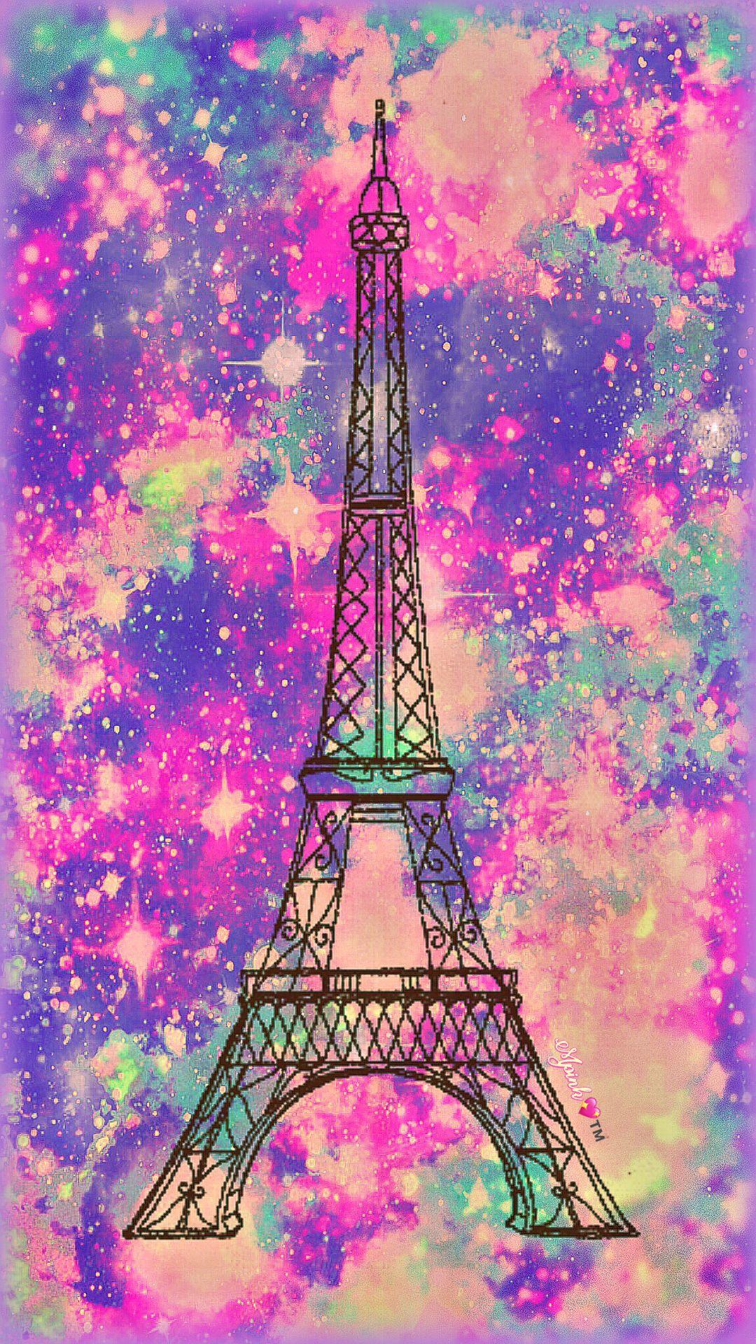 Vintage Paris Galaxy Wallpaper Androidwallpaper Iphonewallpaper