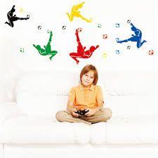 Resultado de imagem para decoração de futebol para quarto de menino