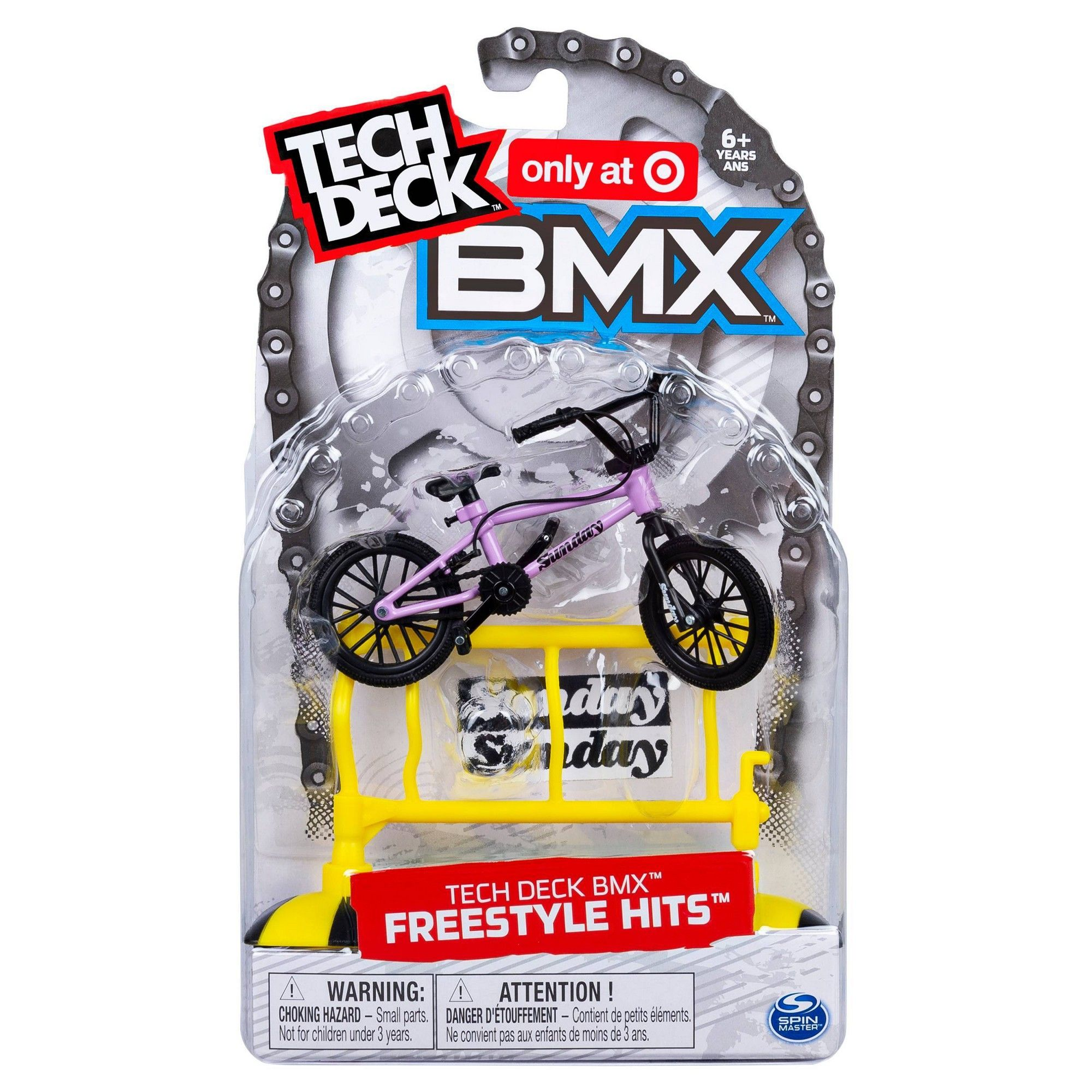 Tech Deck BMX Freestyle Hits Finger Bike with Freestyle