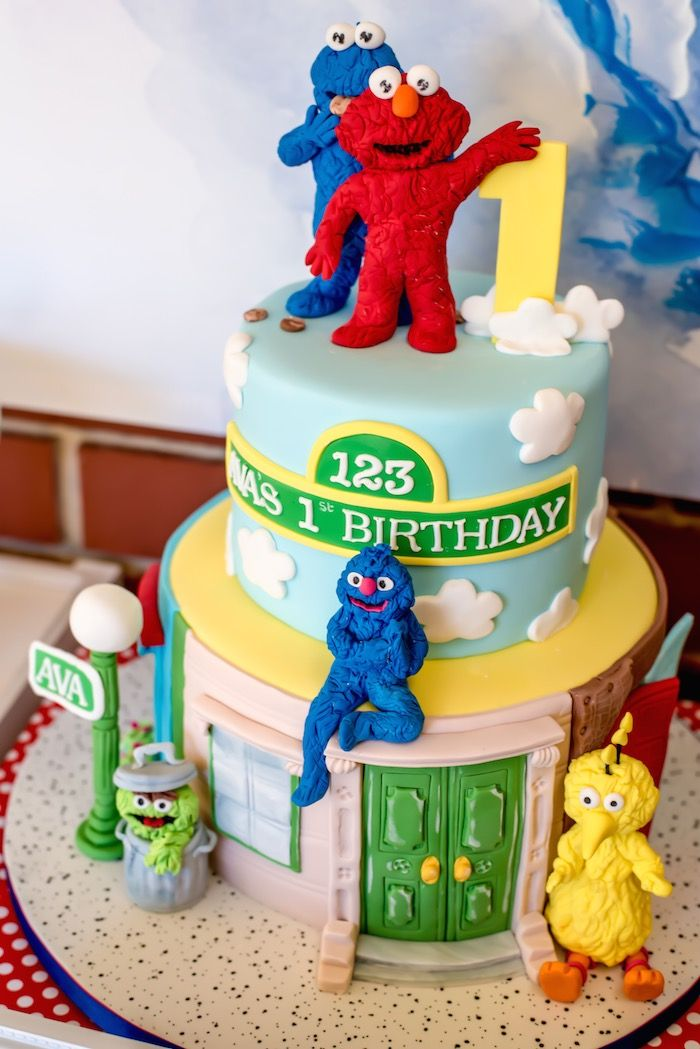 Sesame Street First Birthday Party Supplies