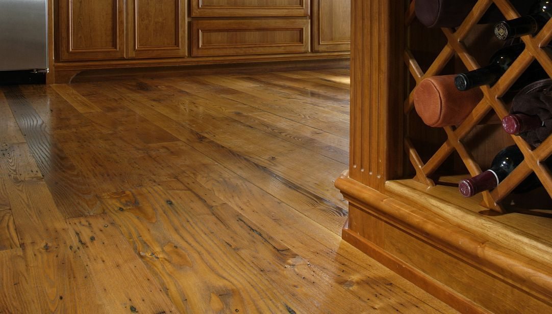 Antique Chestnut Flooring and Reclaimed Wood Floors from Carlisle