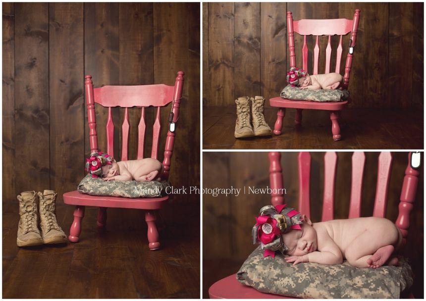 Miss Tynlee>>Charleston, SC Newborn, Children, Family Photographer » Mandy Clark Photography   Newborn army girl newborn Photography