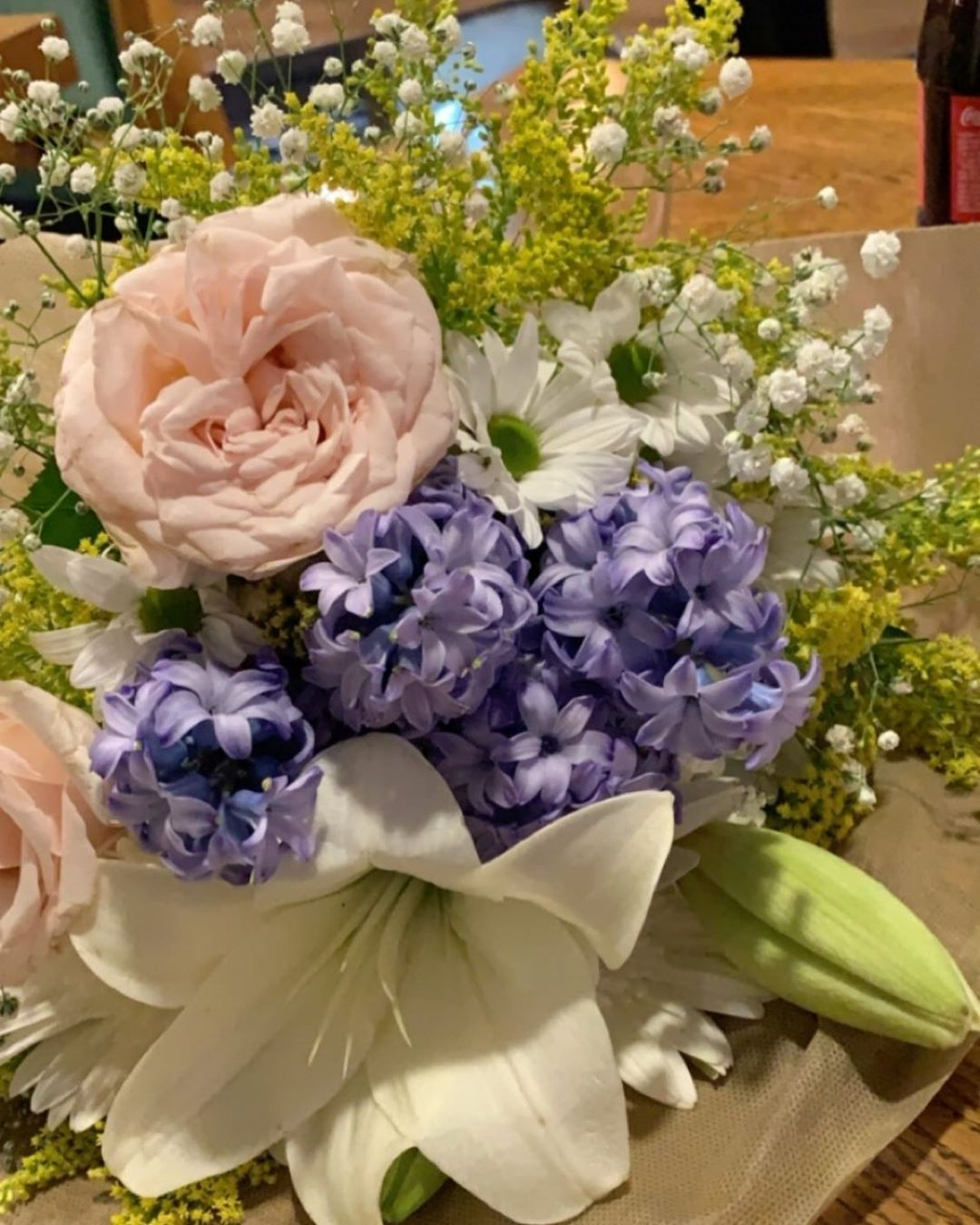 لافندر ورد Lavender هدايا توصيل نوفمبر فواحة Flowers اكاليل Gift Flowerbunch ورد طبيعي صناعي ورد طبيعي كوش افراح تجهيز منا Floral Wreath Floral Wreaths