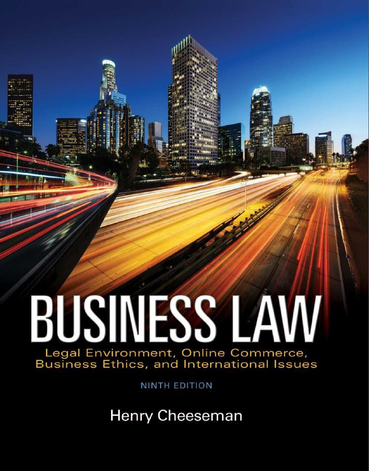 Business law 9th edition by henry r cheeseman pdf ebook isbn business law 9th edition by henry r cheeseman pdf ebook isbn 0134004000 isbn 9780134004006 https fandeluxe Image collections