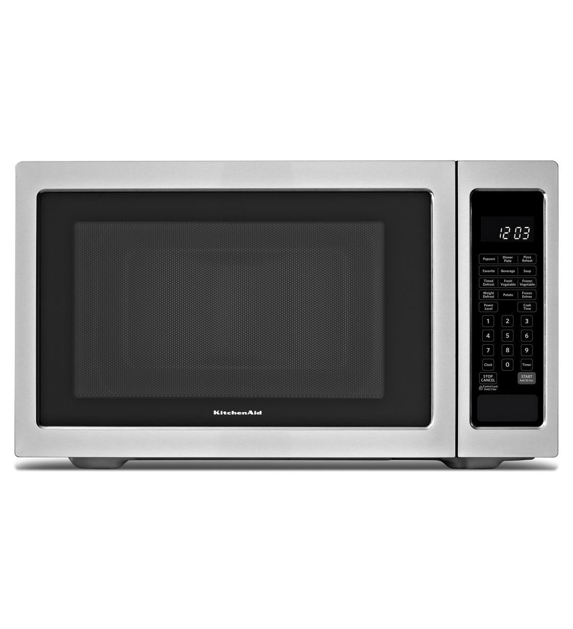 Kitchenaid 1200 Watt Countertop Microwave Oven Architect Series Ii Kcms1655bss Stainless Steel Countertop