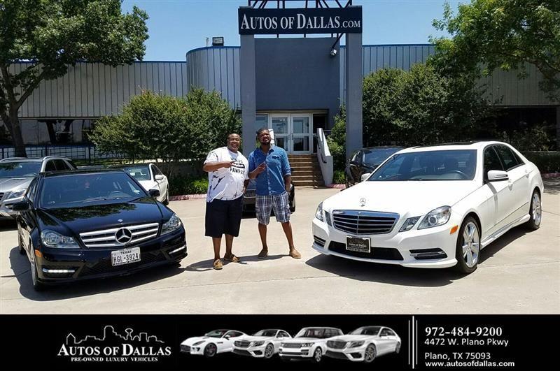 Happy Anniversary to Corey on your MercedesBenz EClass