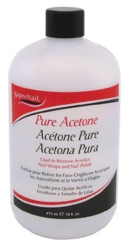 super nail Pure Acetone, 16 Fluid Ounce $5.19 #topseller