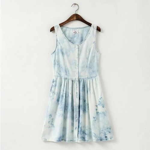 Summer dresses pretty sleeveless clothing for women ND-C2003