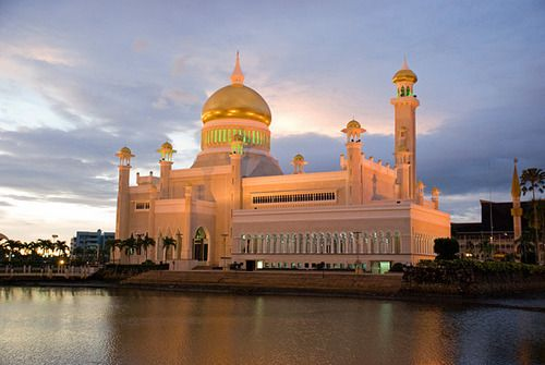 Mesquita de Brunei - fotos-Sultan Omar Ali Saifuddin Mesquita em Bandar Seri Begawan  http://www.photo-travels.org/pt/collection/9/788/