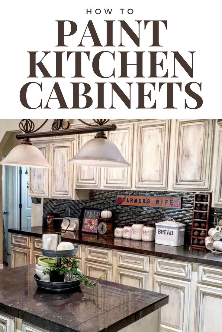 Learn How To Paint Your Cabinets In A Couple Steps With Dixie Belle Paint.  Do