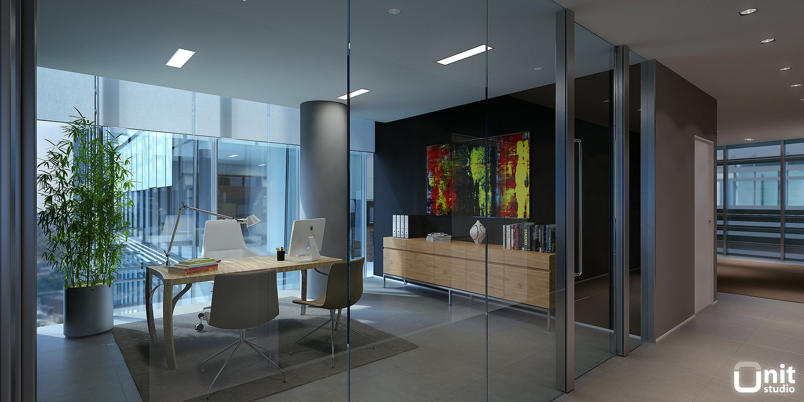 Tewes design nyc executive office seattle interior design - Executive Office