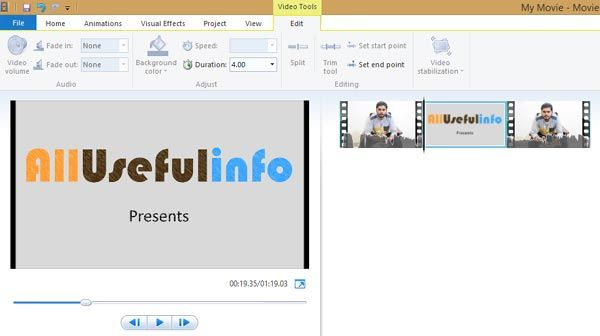 How to Overlay Photos/Videos in Windows Movie Maker Without Affecting Audio | Windows movie ...