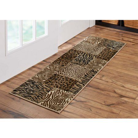Better Homes And Gardens Animal Patchwork Runner Rug 1 8 X 5 Better Homes And Gardens Rug Runner Garden Animals