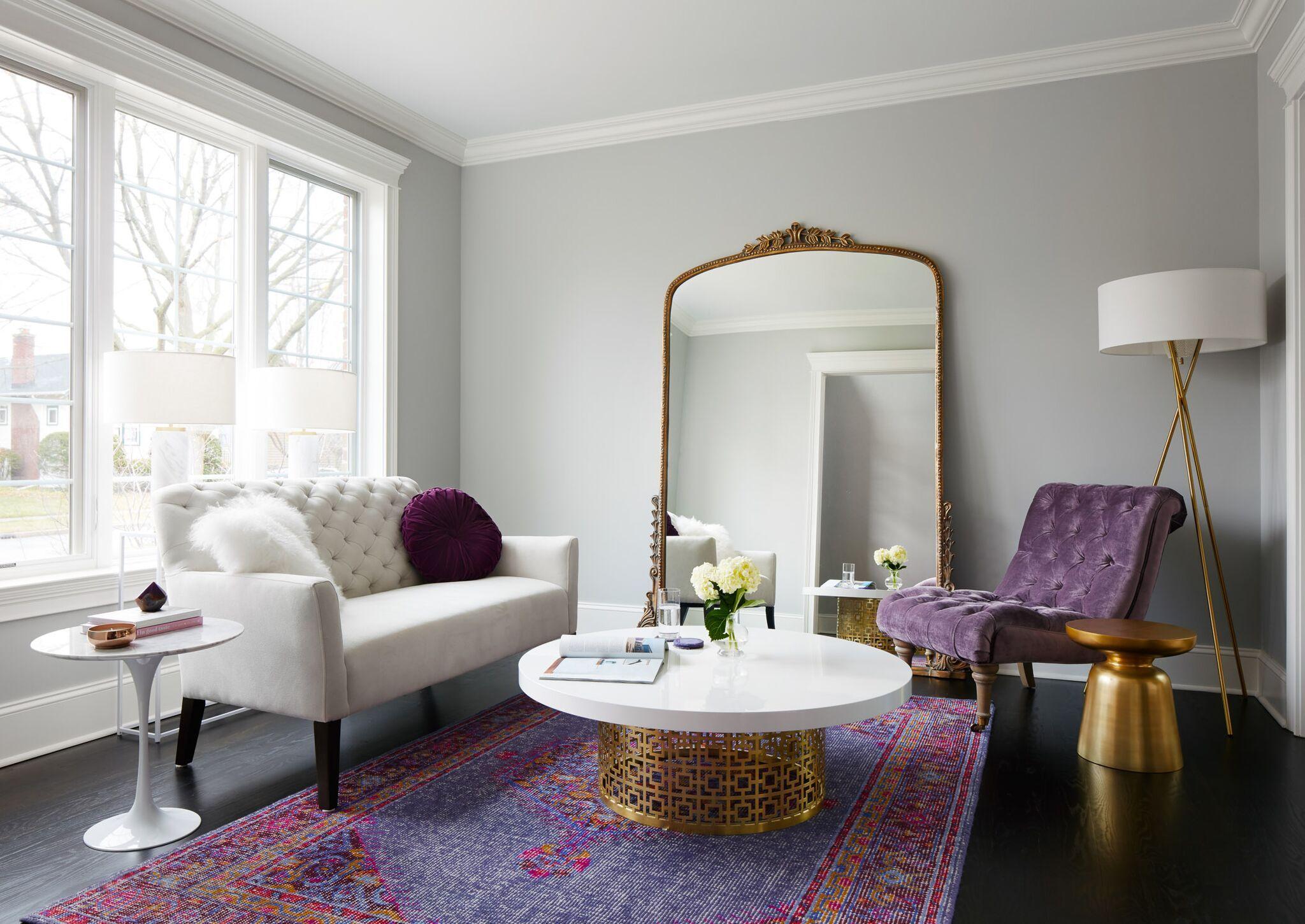 Mastering Hollywood Regency Style Shades Of Purple
