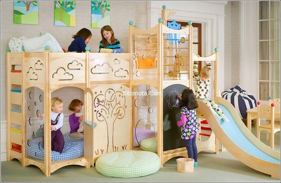 ديكورات غرف نوم اطفال اثاث غرف نوم اطفال مودرن احدث ديكور غرفة نوم للاطفال احلى ديكورات بنوته كافيه Cool Kids Bedrooms Kid Beds Kids Playroom