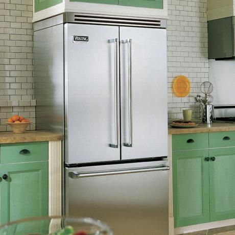 French Door Bottom Mount Refrigerator Freezer Viking Professional Series