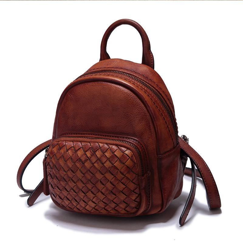 1a79db51b73d Vintage Leather Purse Mini Backpacks Handbags Shoulder Crossbody Bags –  iLeatherhandbag