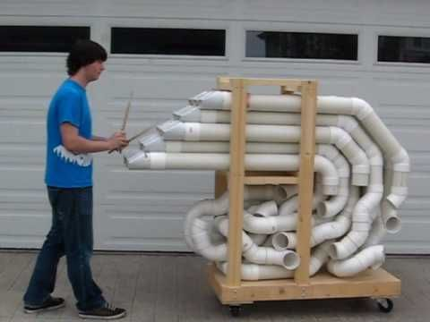 This Is A Tubulum Or A Pvc Pipe Instrument Inspired By