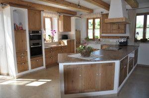 Awesome K che in einem modernen Bauernhaus