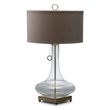 Glass bowl lighting table lamp value city furniture 129 99
