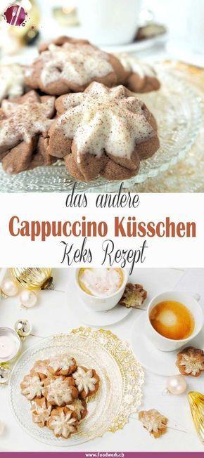 Cappucchino- Küsschen, Plätzchen Rezepte über Grenzen hinweg | Food-Blog Schweiz | foodwerk.ch #vanillekipferlrezept