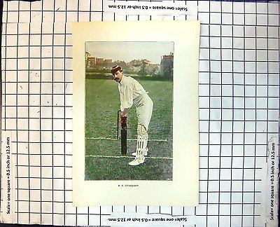 Print a.e. #stoddart cricketer #awaiting ball #batting portrait picture 235j70918,  View more on the LINK: http://www.zeppy.io/product/gb/2/351632176426/
