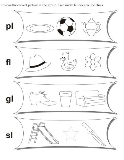 Download English Activity Worksheet Colour The Correct