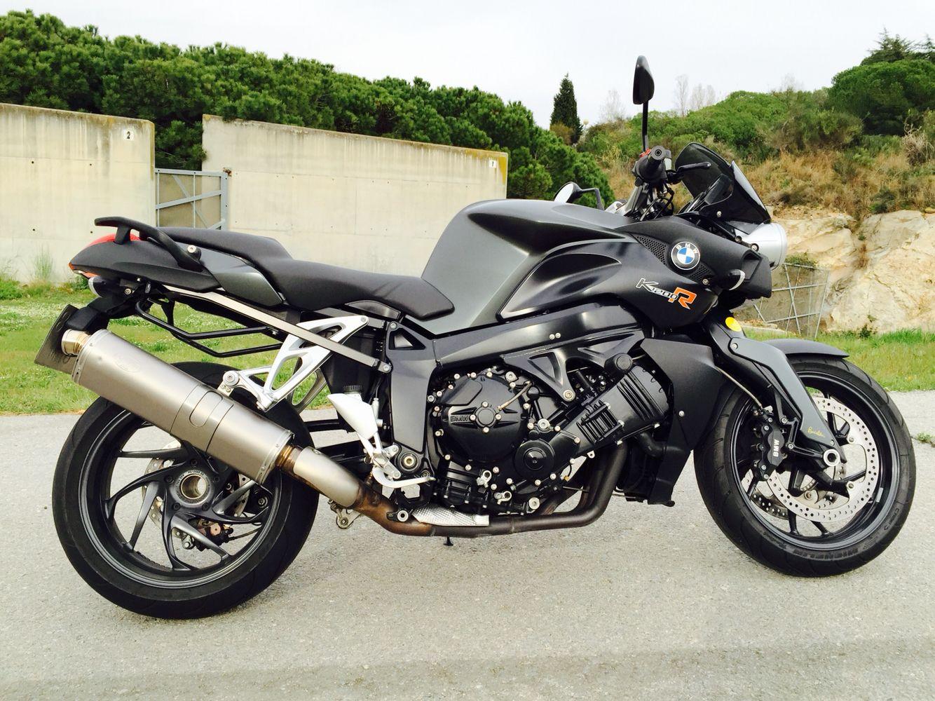 Bmw k1200r black