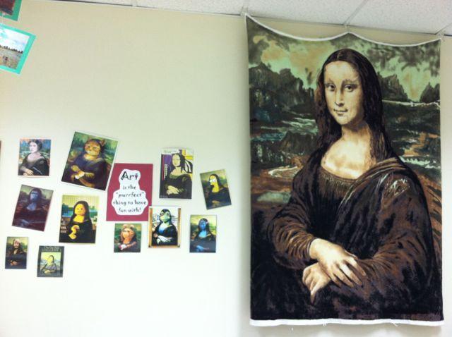 Splats, Scraps and Glue Blobs: art room organization