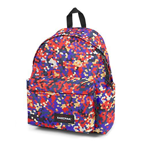 Eastpak Sac à dos loisir, 24 L, Multicolore  Comfortable Padded Back  Height  15.7 In Width  9.1 In Depth  5.9 In Large Main Compartment Cet… 49cac695c07d
