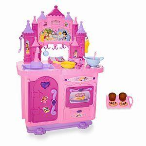 Best Buy Disney Princess Deluxe Talking Kitchen [Toy] The best ...
