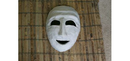How to Make a Greek Theater Mask