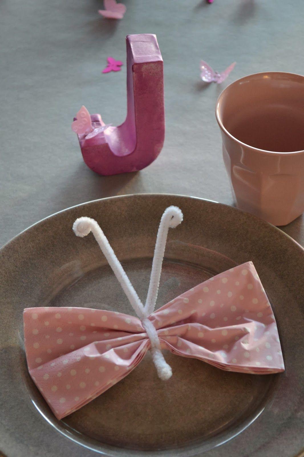 serviette schmetterling kindergeburtstag party fest kindergeburtstag tischdeko. Black Bedroom Furniture Sets. Home Design Ideas
