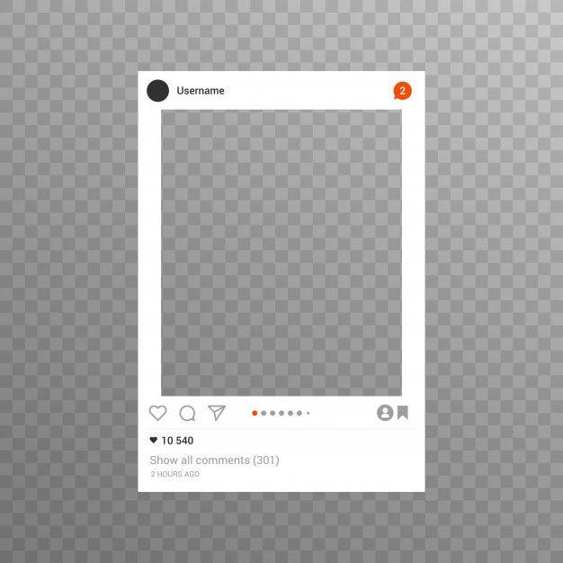 Instagram Photo Frame Inspired For Frien Premium Vector Freepik Vector Frame Business In 2021 Instagram Photo Frame Photo Frame Design Instagram Editing Apps