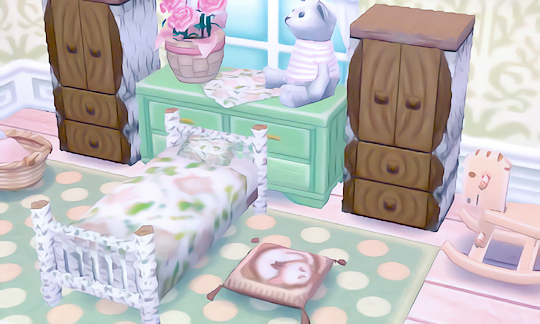 Caits Crossing Another View Of The Bedroom I Posted Yesterday Qr Codes Used Bedding And Cat Cushion Animal Crossing 3ds Animal Crossing Animal Crossing Qr