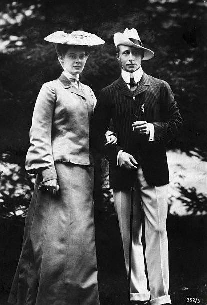 Crown Prince Wilhelm and Crown Princess Cecilie
