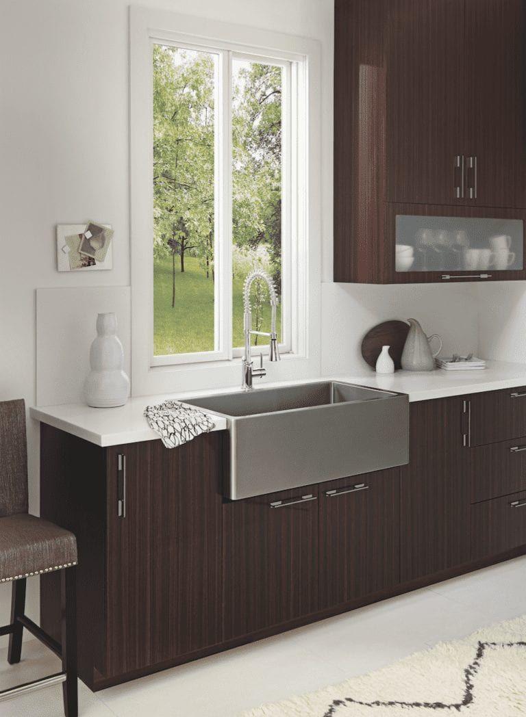 Minimalism Design Modern Windows Next Door And Window In 2020 Easy Kitchen Renovations Custom Kitchen Cabinets Rustic Modern Kitchen