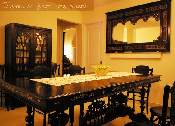 That dining table!!