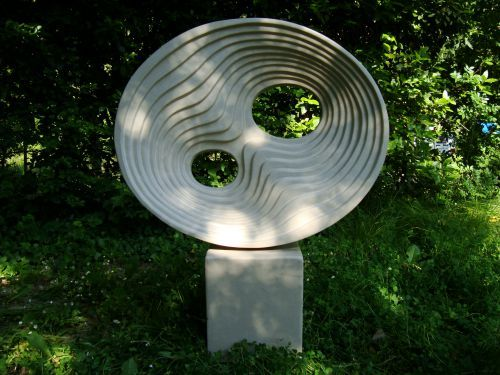 Thermoblock And #concrete Garden Or Yard / Outside And Outdoor #sculpture  By #artist