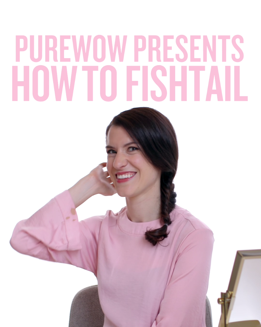 Hereus how to do a fishtail braid in easy steps get your mermaid