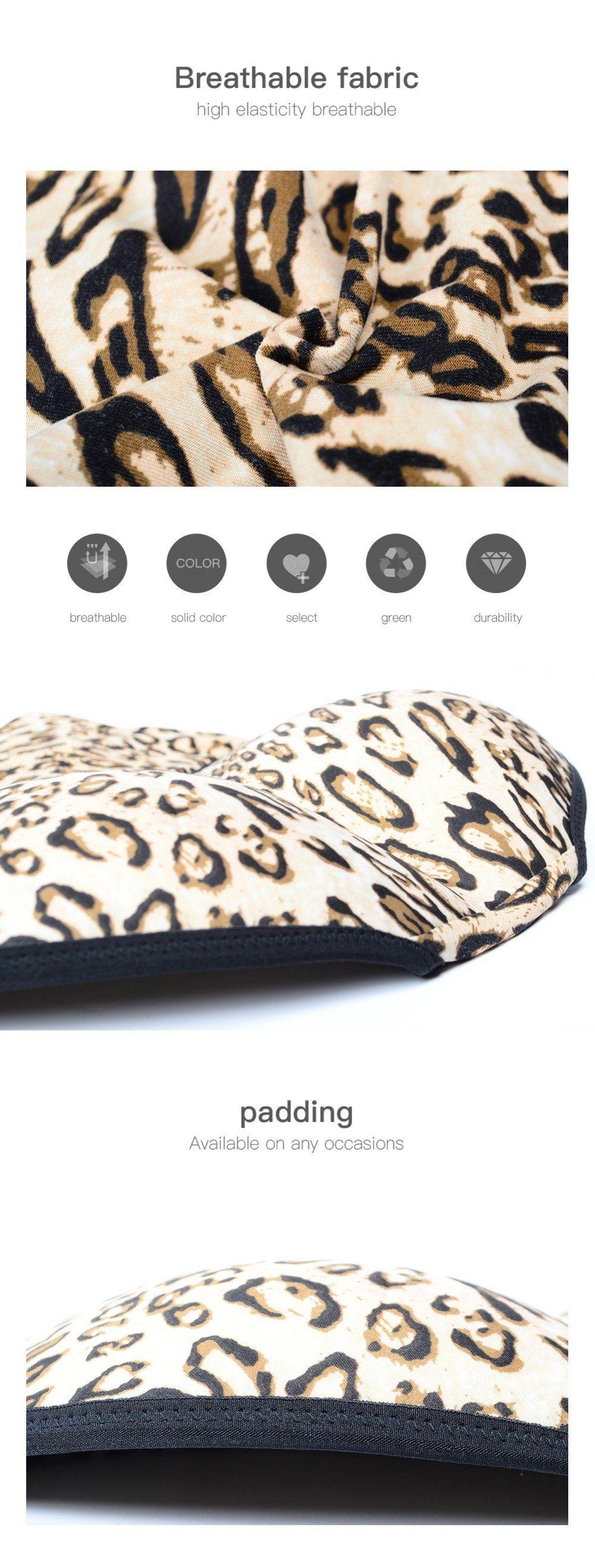 5cccc59088 Body Shaper Leopard Print Slimming Briefs Butt Lifter Hip Enhancer High  Waist Seamless Rear Shaper Tummy Control Padded Panties With Hip Pads