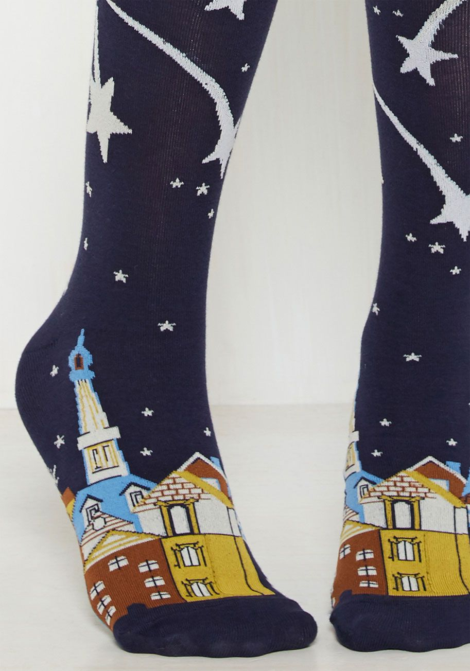 Always Landscape On Your Feet Socks Foot Socks Socks Blue Socks