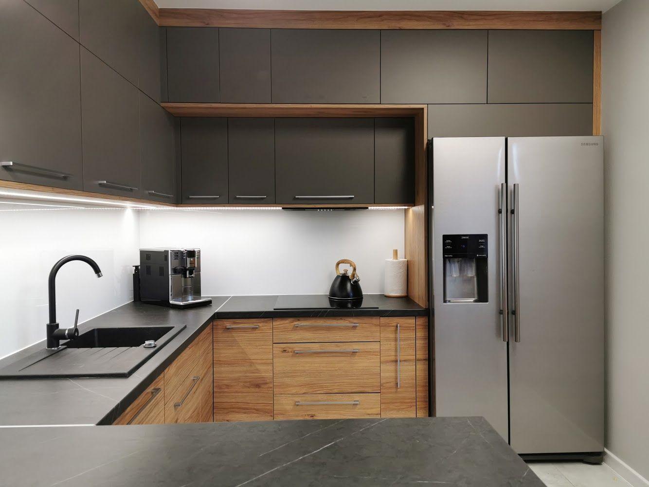 Szare Meble Kuchenne Kitchen Cabinets Decor Home Decor