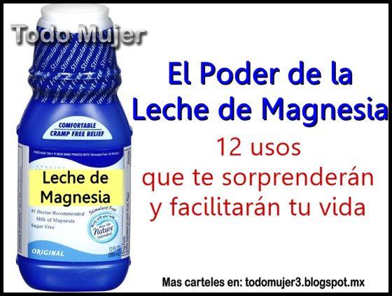 magnesia phillips para adelgazar