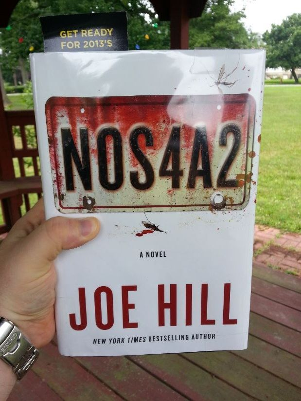 7/9/13 - I spent lunch with NOS4A2.  Time well spent.  I'm loving it thus far.