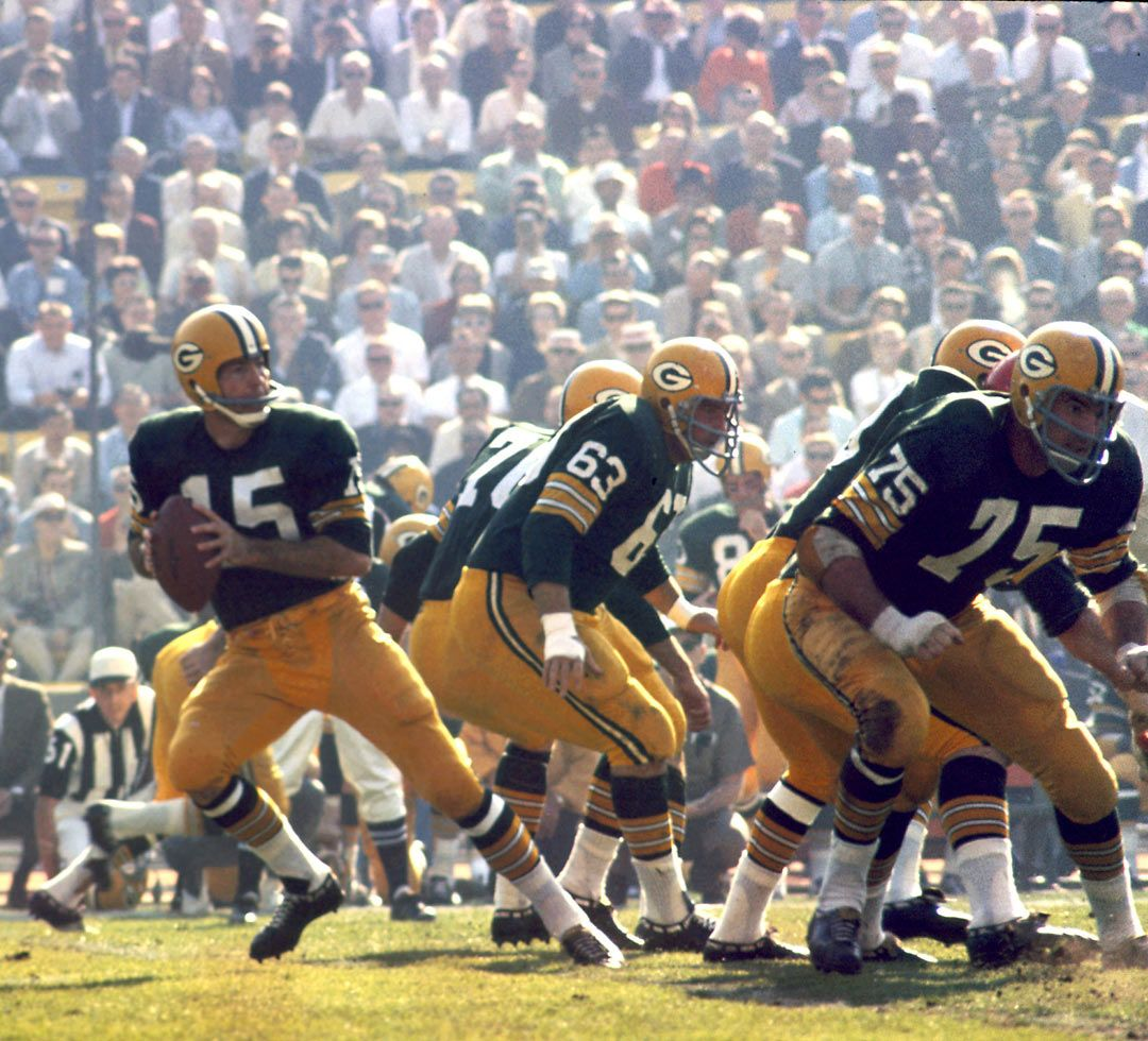 Classic Green Bay Packers And Bart Starr Green Bay Packers Team Green Bay Packers Fans Nfl Green Bay