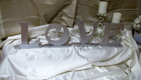 Wooden love sign Wedding Love signs Wedding by lisesimplecreations, $48.00