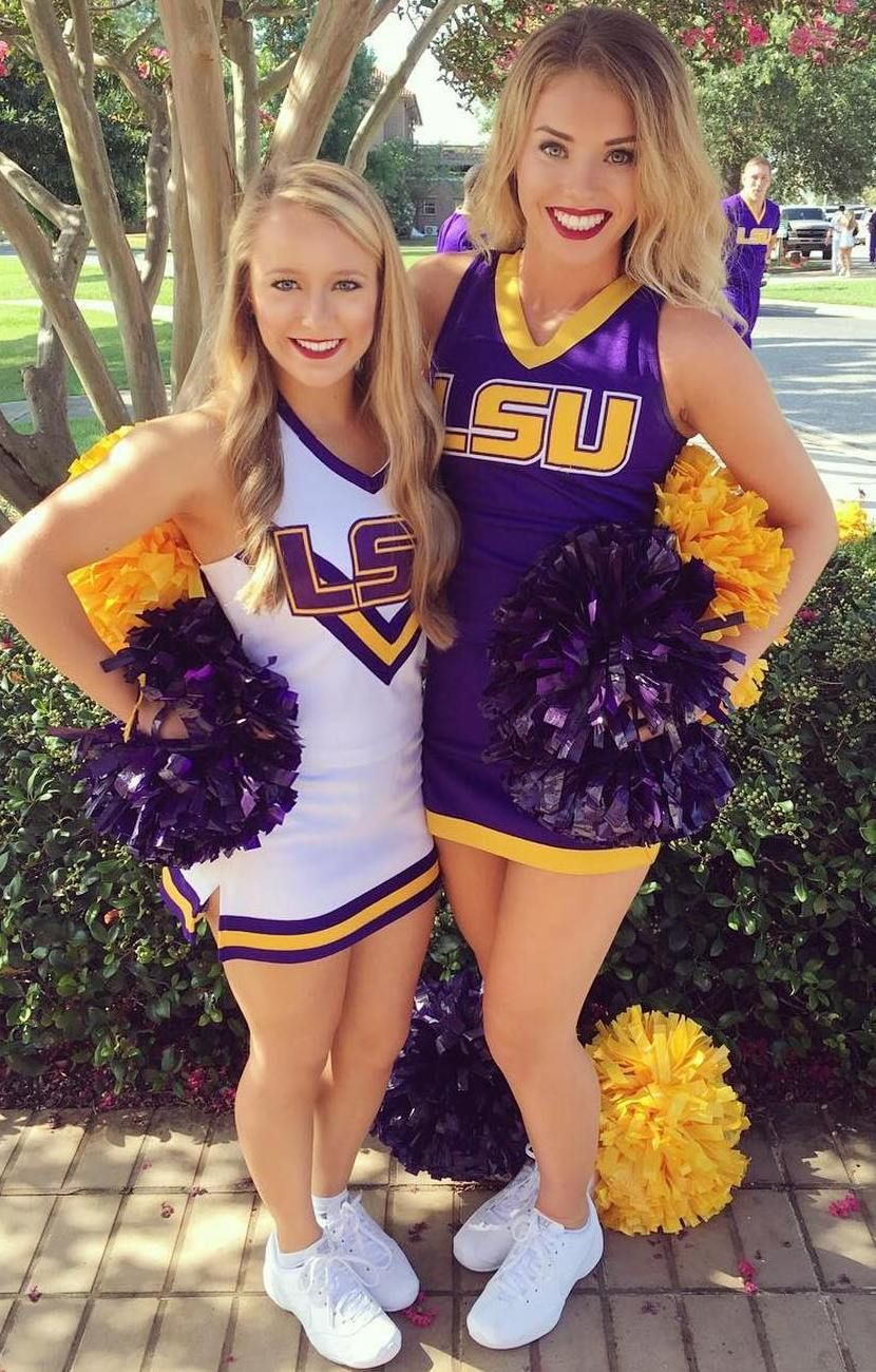 Adult lsu tigers cheerleader outfits