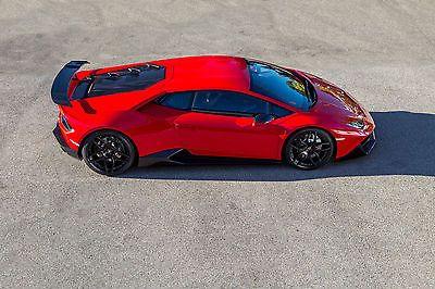 Full Novitec Torado Conversion Kit For The Lamborghini Huracan (RWD),  Available Online From Scuderia Car Parts